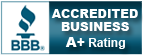 BBB Better Business Bureau A+ Rating